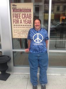 Greg Packer (a.k.a. Mr. Pole Position) from Huntington, Long Island