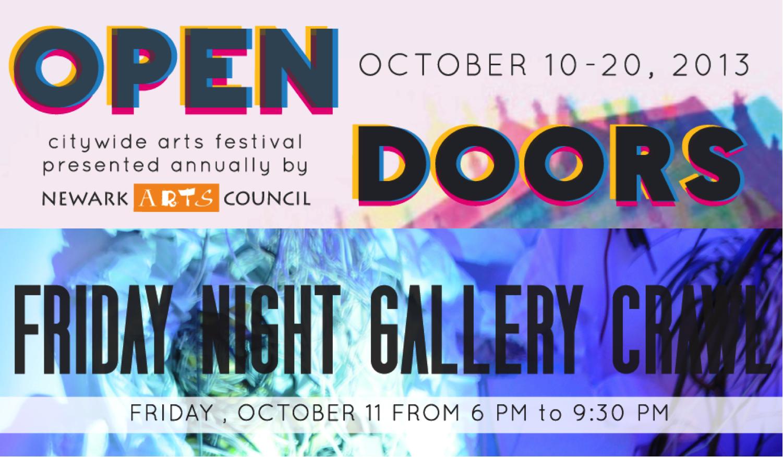 open doors gallery crawl