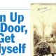 open up the door