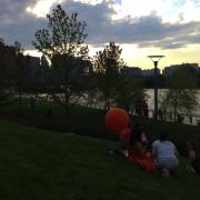 riverfront park visitors