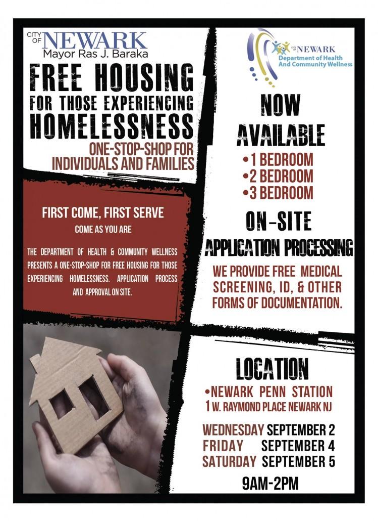 homeless housing application