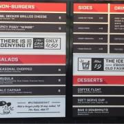 burg menu