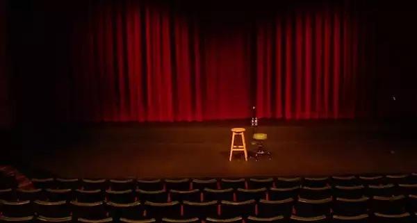 stool on stage