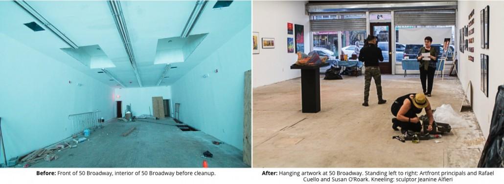 Artfront 50 Broadway