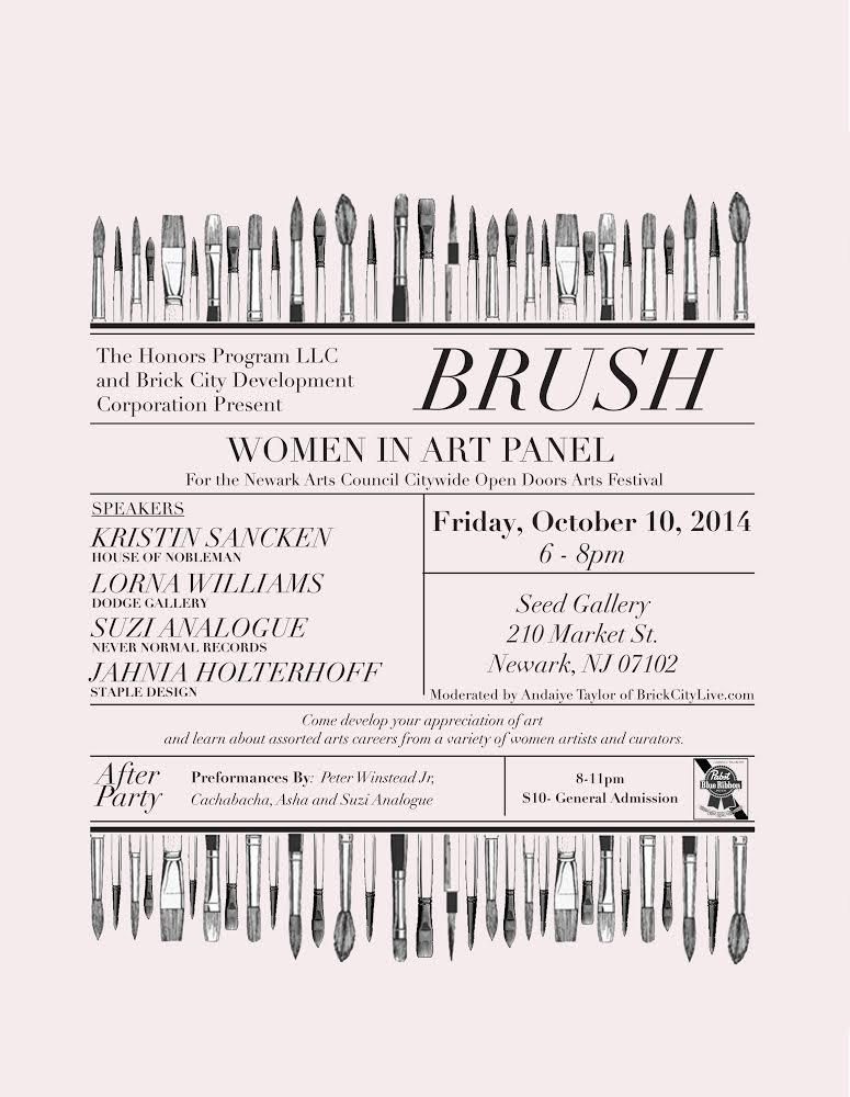 brush art panel