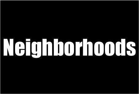 neighborhoods card